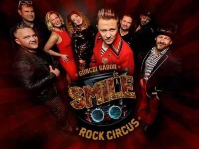 Gönczi Gábor és a Smile Rock Circus